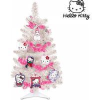 Hello Kitty Juletræ med Dekorationer