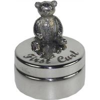 Wentworth First Curl Pewter Trinket Box
