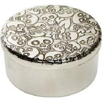 Wentworth Love Skull Small Pewter Trinket Box