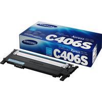 HP CLT-C406S Laser toner 1000 Sider Blå