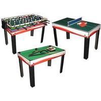 MegaLeg Multibord 3 i 1 (Fodbold/Pool/Bordtennis)