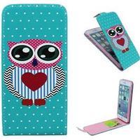 Owl klapetui til iPhone 6 Plus/6S Plus - Big eyes owl