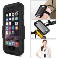 3 in1 vandtæt iPhone Case - Cykelholder/ Armbånd/ Taske til iPhone 5/ iPhone 5s/ iPhone SE