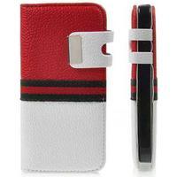 Fashion Mode Case til iPhone 5/5S/SE - Rød