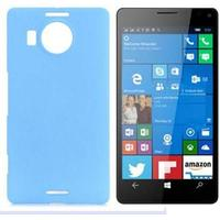 Plastik cover Microsoft Lumia 950 XL turkis blå
