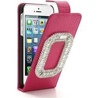 O-Ring Bling Case - iPhone 5 (magenta)