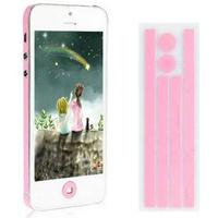 Side Stickers iPhone 5 (Pink)