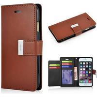 Empire Wallet Etui til iPhone 6 Plus / 6S Plus - Brun