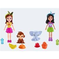 Mattel Polly Pocket DNB62 figur med dyr