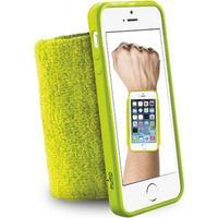 Puro - Svedarmbånd Cover til iPhone 5/5S/SE (Grøn)