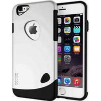 SLiCOO Plastik/TPU Case iPhone 6 / 6S - Sølv