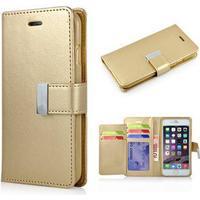 Empire Wallet Etui til iPhone 6 / 6S - Guld