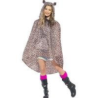 Smiffys Leopard Party Poncho