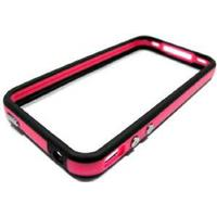 iPhone 4 Bumper, Sort/Pink