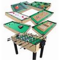 MegaLeg Multibord 15i1 (Fodbold / Pool / Hockey / Tennis m.v.)