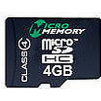 MicroMemory MicroSDHC Class 4 18/4MB/s 4GB