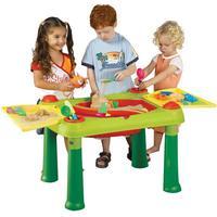 Keter 714-4058 Kinder-Spieltisch Sand und Wasser ab 2 Jahre