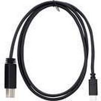 Targus - USB-kabel - USB-C (hane) till USB Type B (hane) - USB 3.1 Gen 2 - 3 A - 1 m - reversibel C-kontakt, stöd för 4K - svart