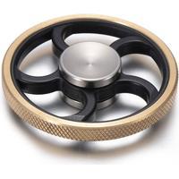 Fidget Spinner Golden Wheel Easy Spin Gold