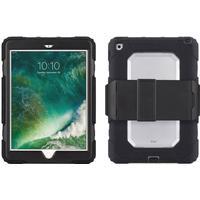 iPad (2018) / iPad (2017) Griffin Survivor All-Terrain Håndværker Cover m. Flipstand Sort - BULK