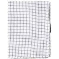 Tinycottons Grid Swaddle White/Navy