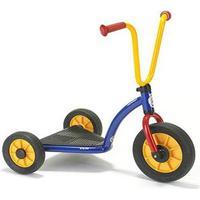 Winther Løbehjul med tre hjul og bred plade