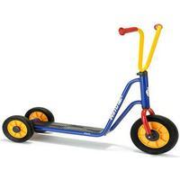 Winther løbehjul med dobbelt baghjul