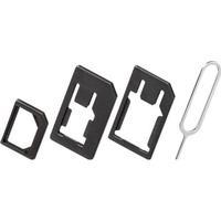 Goobay 40805 SIM-Kartenadapter (3in1) nano-SIM, Micro-SIM, SI
