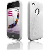 Katinkas Softcover Swirling weiß für Apple iPhone 4
