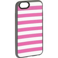 Agent18 StripeVest pink/grau iPhone 6