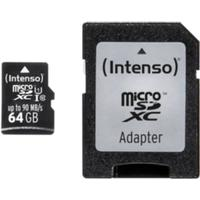 Intenso Micro SD 64GB UHS-I Professional 4034303022366