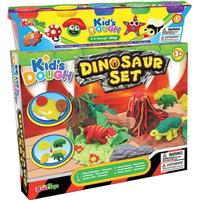 Kid's Dough Dinosaursæt inklusiv ler