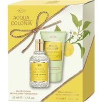 4711 Acqua Colonia Unisex-dufte Lemon & Ginger Gavesæt Eau de Cologne Spray 50 ml + Aroma Shower Gel 75 ml 1 Stk.