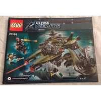 2014 LEGO Ultra Agents Hurricane Heist INSTRUCTION MANUAL ONLY (70164) NEW