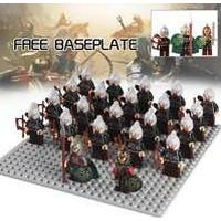 King Theoden Rohan Archer 22pcs Army LOTR Hobbit Lego Minifigure Toys Set
