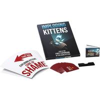 Imploding kittens: this is the first expansion of exploding