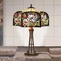 PRIM - bordlampe i Tiffany stil