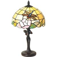 Sirin - flot bordlampe i Tiffany stil