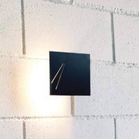 Des.agn - italiensk designer væglampe, sort