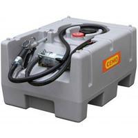 125 liter tank Diesel DT-mobil Easy - Med elektrisk 12V/24V pumpe 25L/min og automatisk hane.