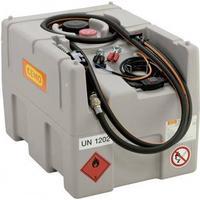 Cemo 200 liter Diesel tank, ladtank. Elektrisk pumpe SP 24V og automatisk hane.