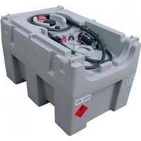 Cemo 430 liter diesel tank DT-Mobil Easy - Med 24V pumpe, automatisk håndtag 40L/min. Låg kan tilkøbes.
