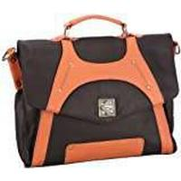 Bruno Banani Eye Catcher_3 Business Bag Womens Brown Braun (brown/orange) Size: 36x29x10 cm (B x H x T)
