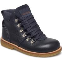 ANGULUS Boots - Flat - With Lace And Zip 1989/1147/1587 NAVY/NAVY/NAVY