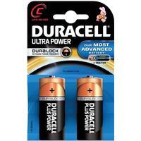 Duracell Ultra M3 Batteri C/LR14 2-Pack Innehåller 2st C/LR14 batterier