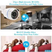 ROOMFUN OWSOO® HD 960P Megapixel IP-Wolke-Kamera CCTV-Überwachung-Sicherheits-Netzwerk im Freien Innenkugel-Kamera Unterstützung P2P Android / iOS APP Onvif wetterfeste IR-Cut-Filter Infrarot-Nachtsicht Bewegungserkennung E-Mail Alarm Browser-Ansicht 24 LEDs