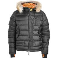 Parajumpers Skimaster Quilted Down Jacket with Fur Trimmed Hood