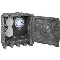 Verteiler mit Tür 2 Steckdosen 230V/16A