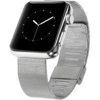 Apple Watch (42mm) Flettet Metal Rem - Sølv