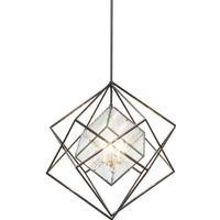 KARE DESIGN Prisma Ice Cube Big loftlampe - frosted glas og stål